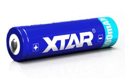 XTAR 18650 batterij #SL9828