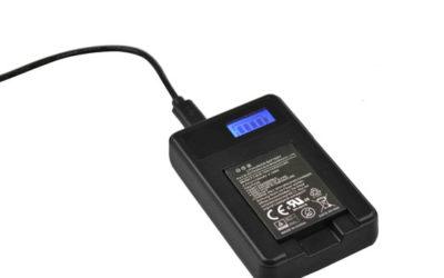 USB-batterijlader voor DC2000 batterij #SL7405